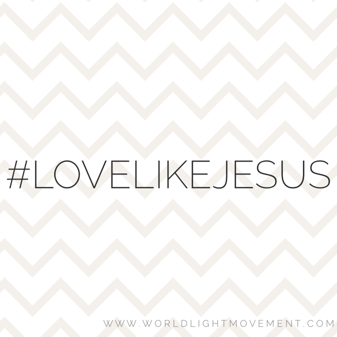 Love Like Jesus Bible Study Outline