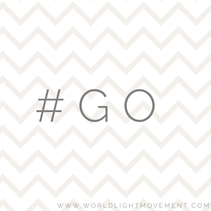 April Theme is 'GO'